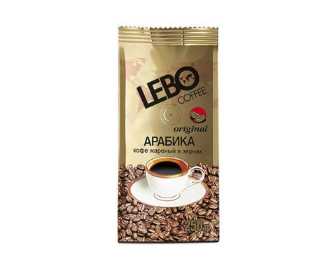 купить Кофе в зернах LEBO Original, 250 г