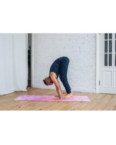 Коврик для йоги Inspiration 183*61*0,3 см из микрофибры и каучука