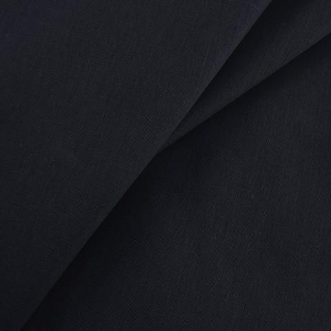 Бязь гладкокрашеная 120гр/м2 150 см цвет черный