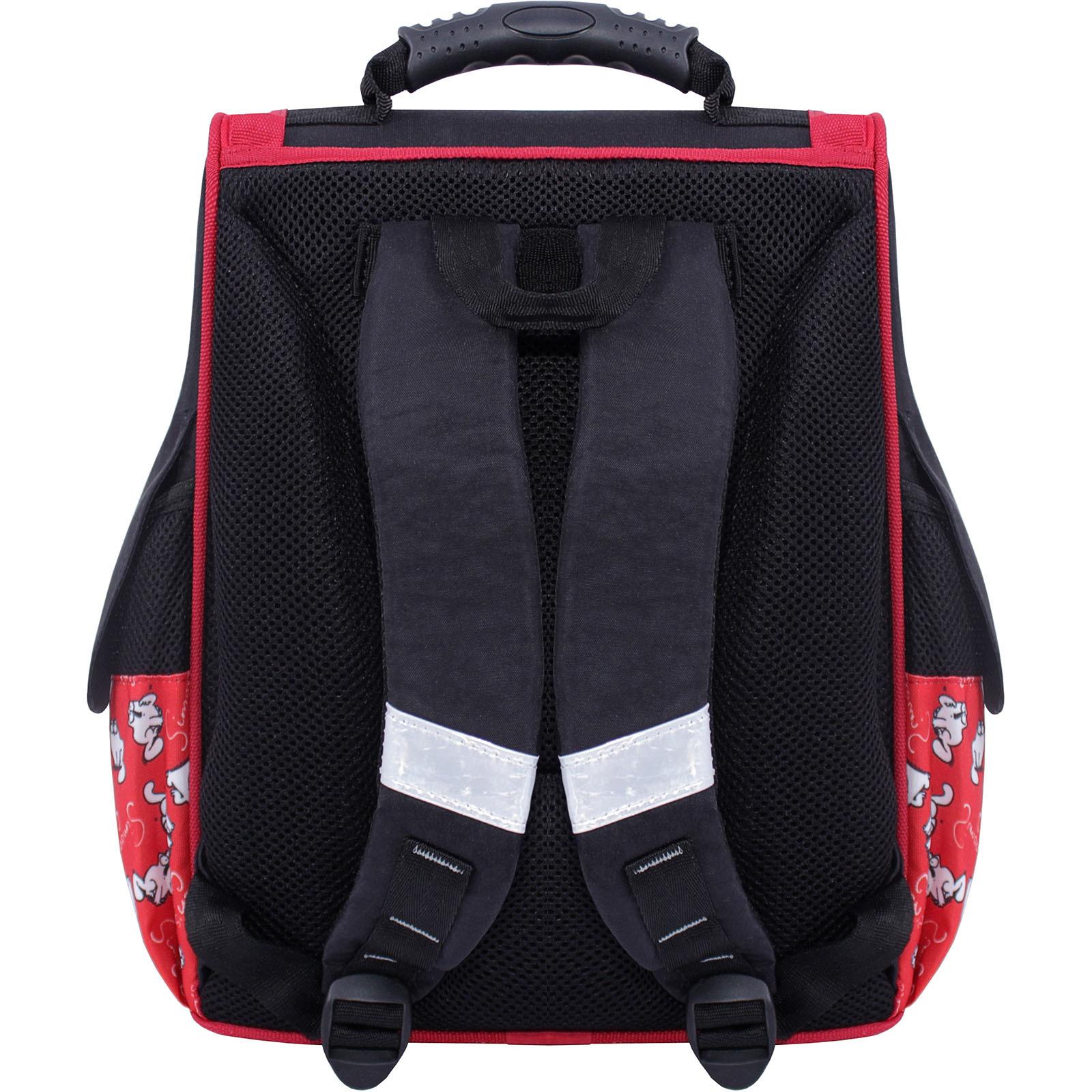 Рюкзак школьный каркасный Bagland Успех 12 л. Черный 372 (00551702) фото 3