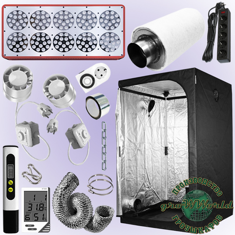 120х120х200 PROBOX  APOLLO 10 LED SUPERSILENT