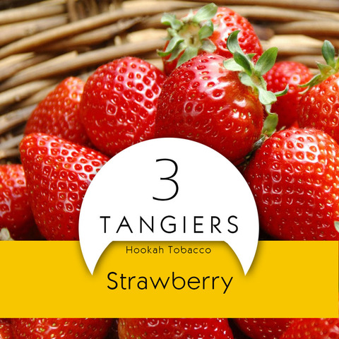 Табак Tangiers Noir Strawberry 100 г