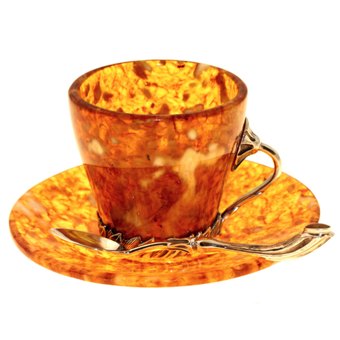 Чашечка для кофе «Лето» из янтаря