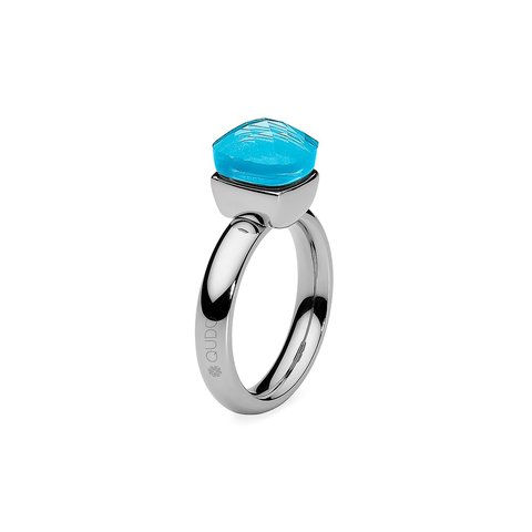 Кольцо Firenze dark aquamarine 18.4 мм 610899/18.4 BL/S