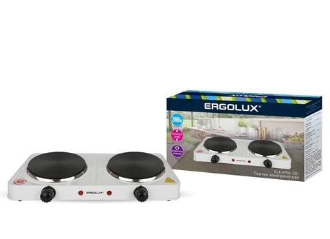 Электроплитка Ergolux ELX-EP04-C01 белый
