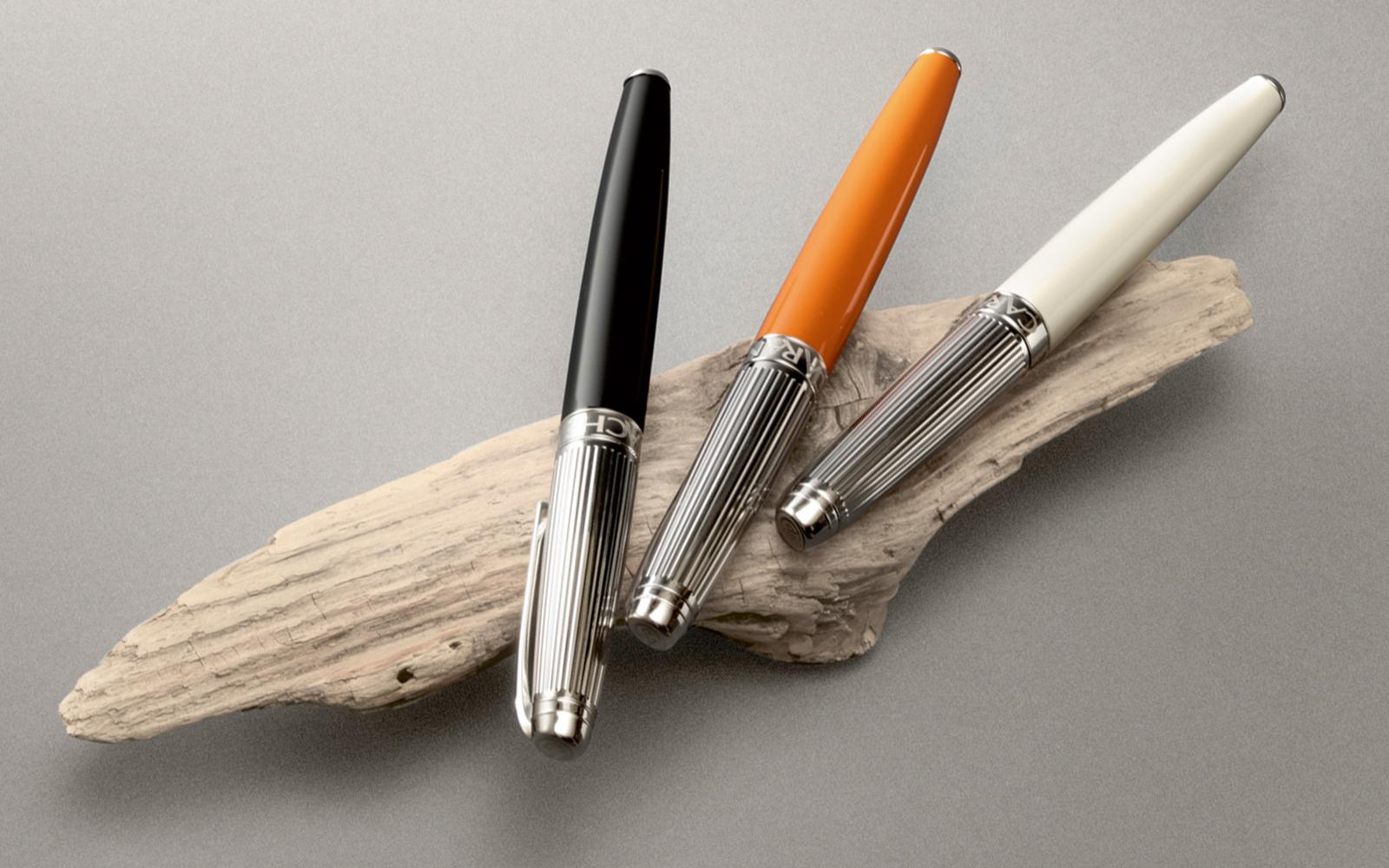 Carandache Leman - Bicolor Black Lacquer SP, ручка-роллер, F