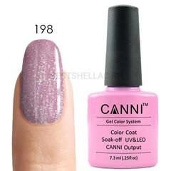 Canni, Гель-лак № 198, 7,3 мл