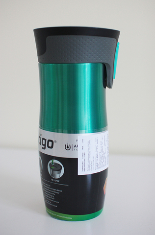 Уценка! Термокружка Contigo West Loop (0,47 литра) бирюзовая