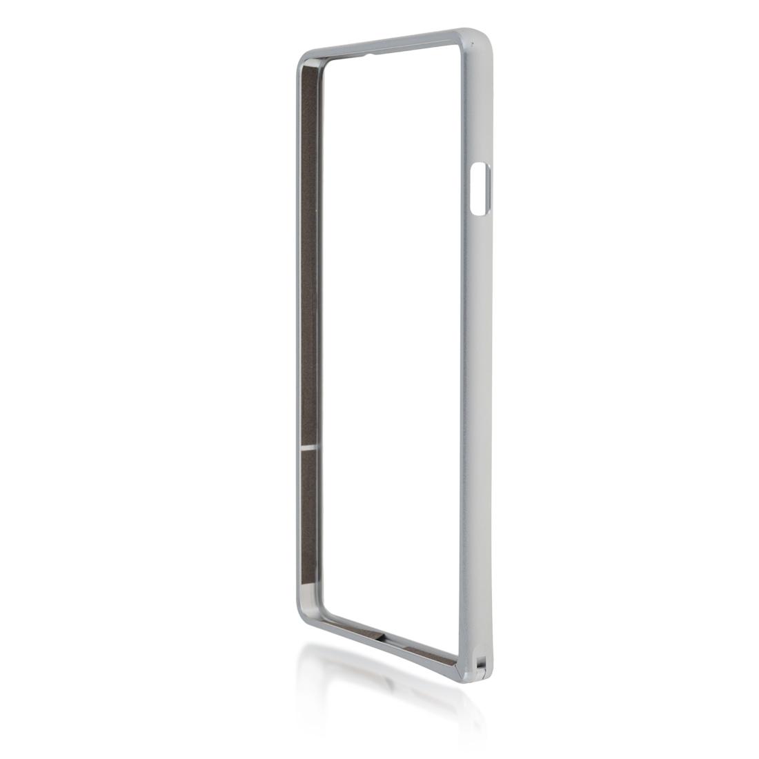 Бампер металлический серебристый для Xperia C4