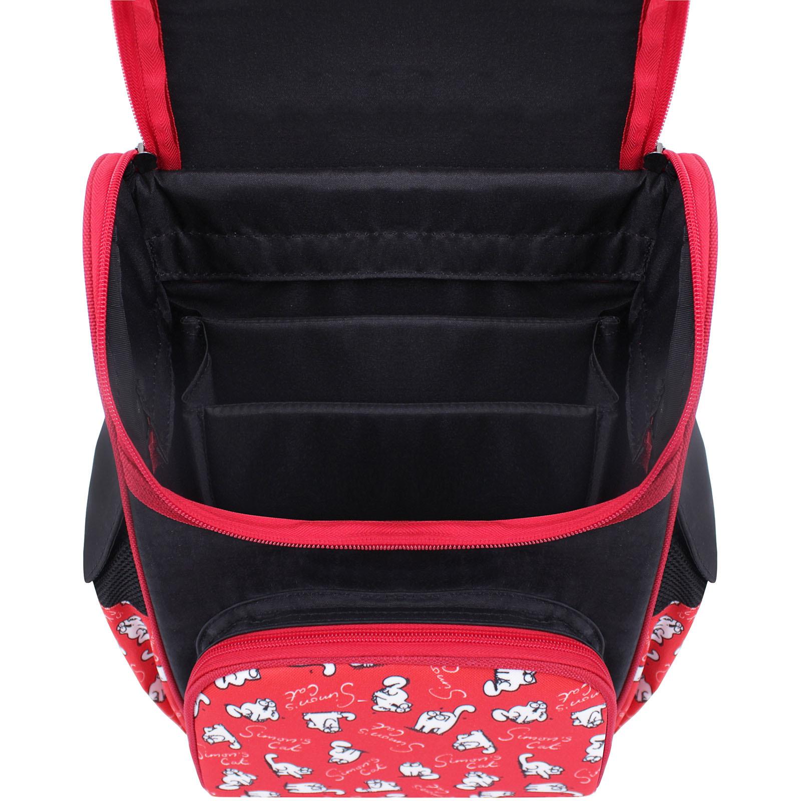 Рюкзак школьный каркасный Bagland Успех 12 л. Черный 372 (00551702) фото 4