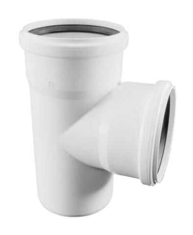 Rehau Raupiano Plus 110/50/87° тройник для канализационных труб (11213241002)
