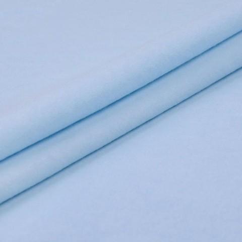 Фланель гладкокрашеная 90 см 278 цвет голубой