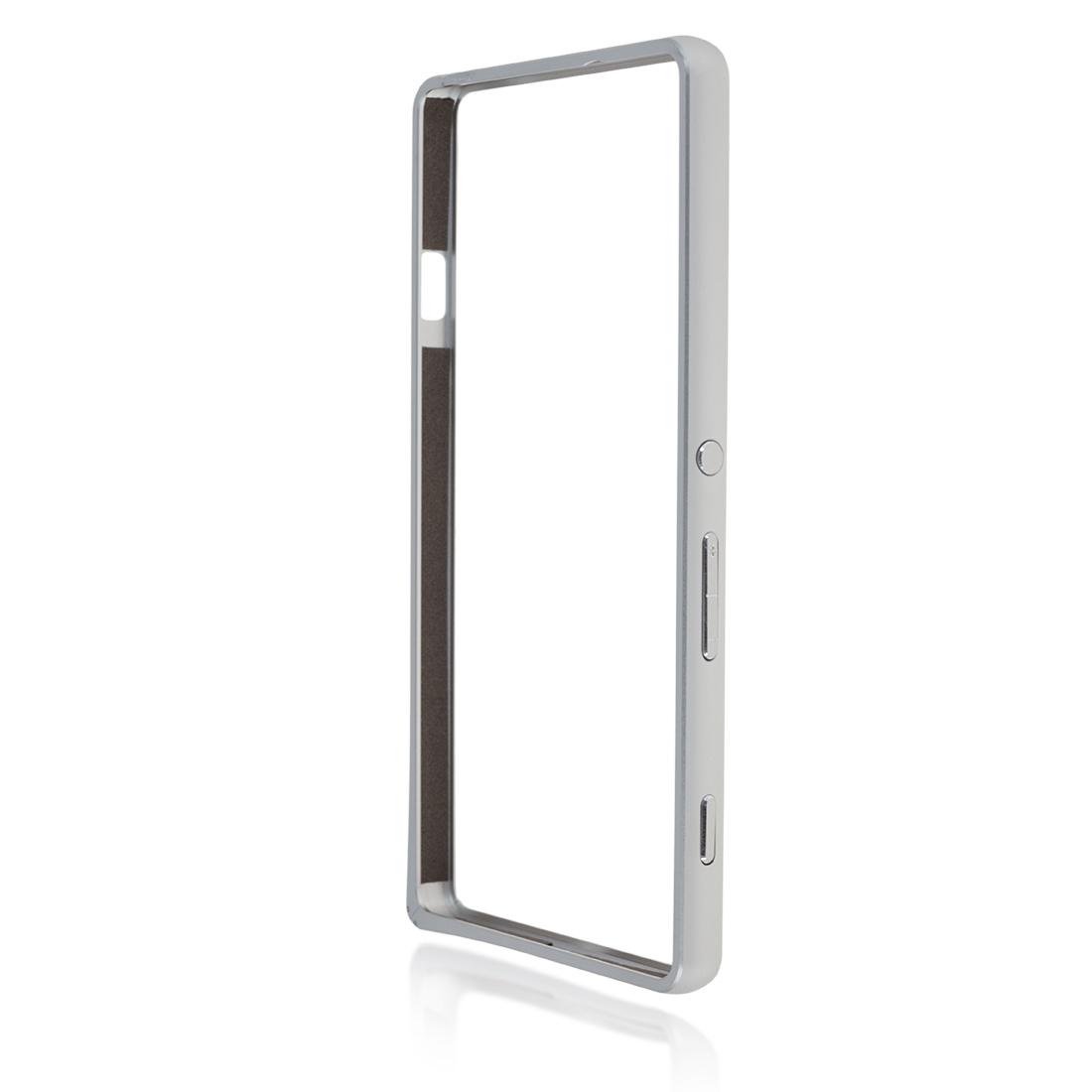 Бампер серебристый для Xperia C4 купить в Sony Centre Воронеж