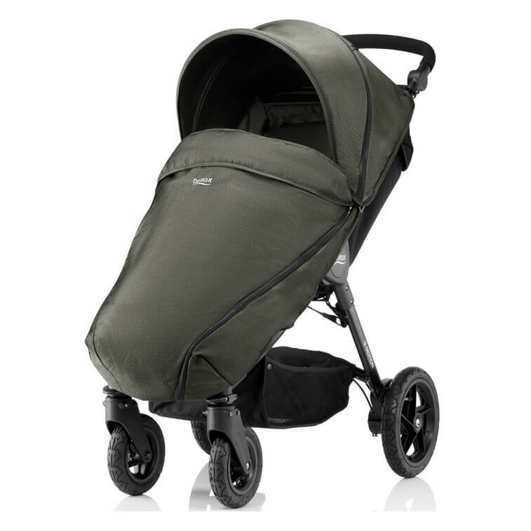 Britax B-Motion 4 Прогулочная коляска Britax B-Motion 4 Olive Denim 103659__1_.jpg