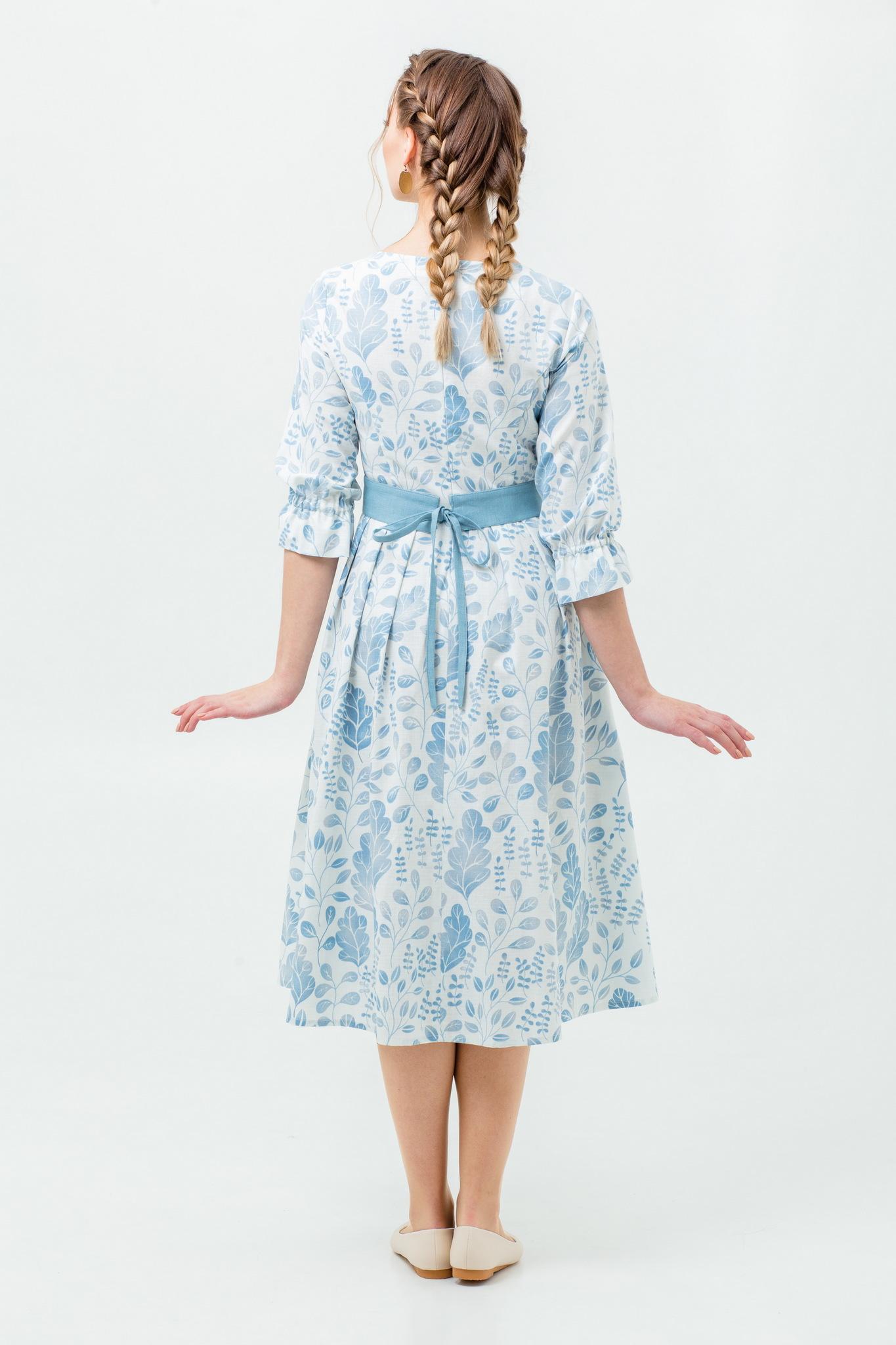 Современное платье в русском стиле