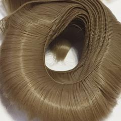 Волосы для кукол, трессы короткие (для мальчика или челки), длина - 4-5 см, ширина - 45-50 см, 2 шт в наборе.