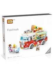 Конструктор LOZ mini Продовольственный грузовик 491 деталь NO. 1739 Food Truck MiniBlock