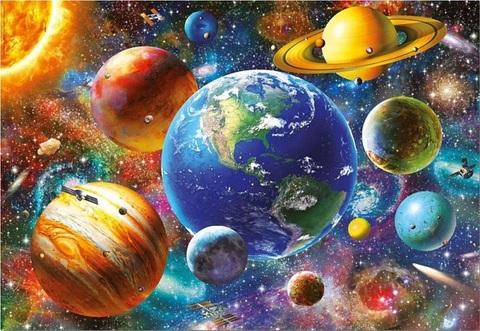 Алмазная Мозаика 40x50 Планеты (арт. GA74245 )