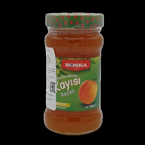 Варенье традиционное из абрикоса KOSKA, 380 гр