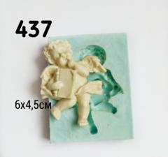0437 Молд Ангел Книги