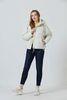 SIC-I118/6385-женская куртка на нано-пухе