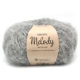 Пряжа Drops Melody 04 серый