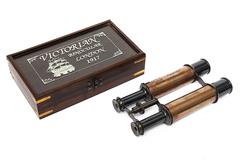 Бинокль в подарочной коробке Secret De Maison  mod. 47665 ) — античная медь/коричневый