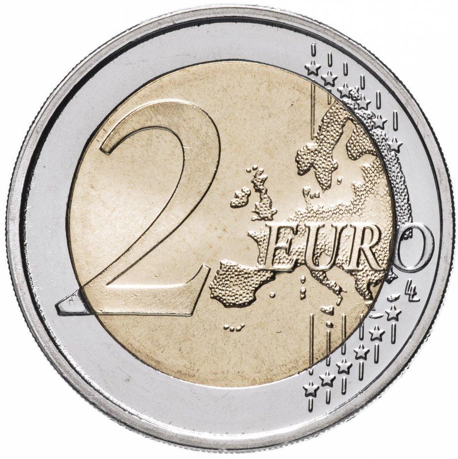 2 евро. 60-летие комиксов с Астериксом. Франция. 2019 год. В блистере №1