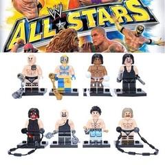 Минифигурки Бойцы рестлинга WWE серия 369