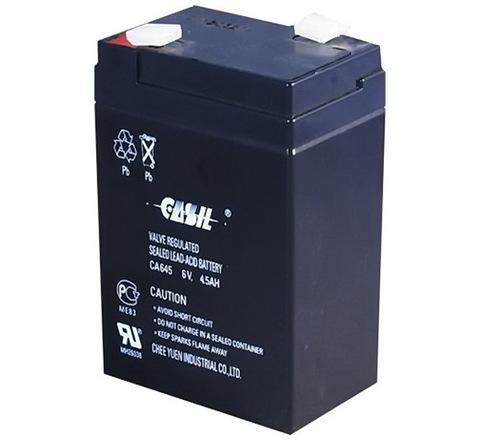Аккумуляторы Casil CA645 (6V, 4.5A)