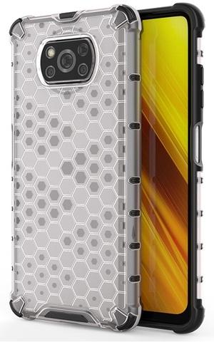 Ударопрочный чехол для смартфона Xiaomi Poco X3 NFC от Caseport, серия Honey