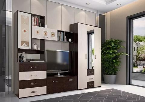 Гостиная Белла с 3-х дверным шкафом
