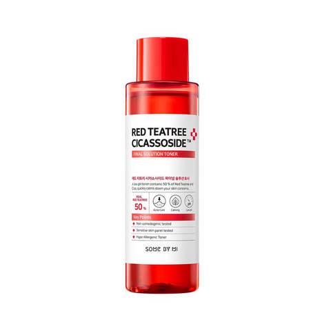 Some By Mi Red Tea Tree Cicassoside Final Solution Toner тонер для проблемной кожи с красным чайным деревом
