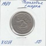 V1207 1989 Финляндия 1 марка