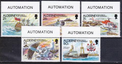 Alderney 1991 №49-3 **MNH