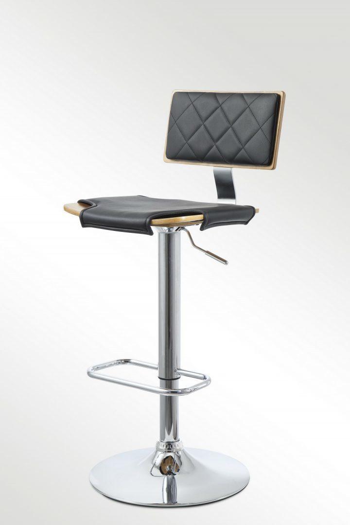 Барный стул JY986-4 черный
