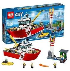Конструктор серия Город Береговая охрана у маяка