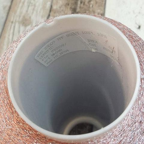 Вискоза KOS CEROTTO  2350 розовый с серебром