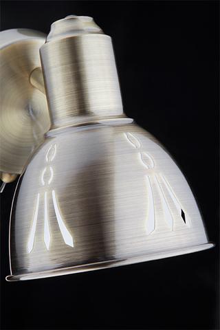 Настенный светильник 20052/1 античная бронза