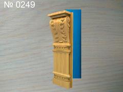 Силиконовый молд № 0249 Полуколонна , пилястра