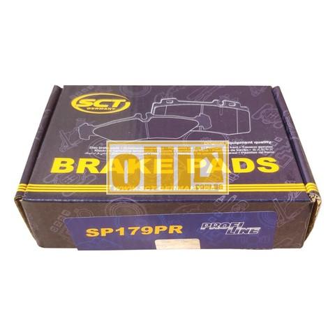Гальмівні колодки SCT SP179 (LADA Niva 2121, Chevrolet Niva)