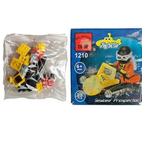 Конструктор 1210 Brick подводный скутер 1кор*1бл*10шт