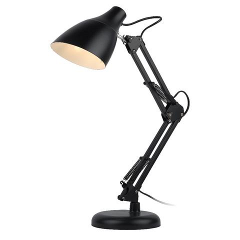 Настольная лампа ЭРА N-123-E27-40W-BK черный