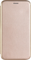 Чехол-книжка Fashion Case для samsung galaxy a20 золотая