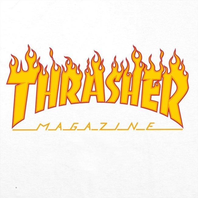 Футболка THRASHER Flame White