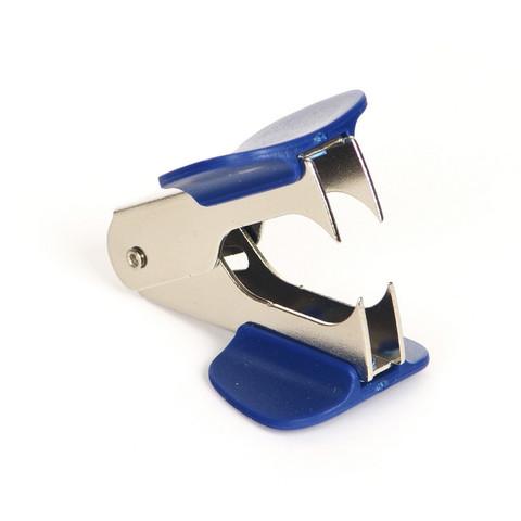 Антистеплер Sax синий с фиксатором