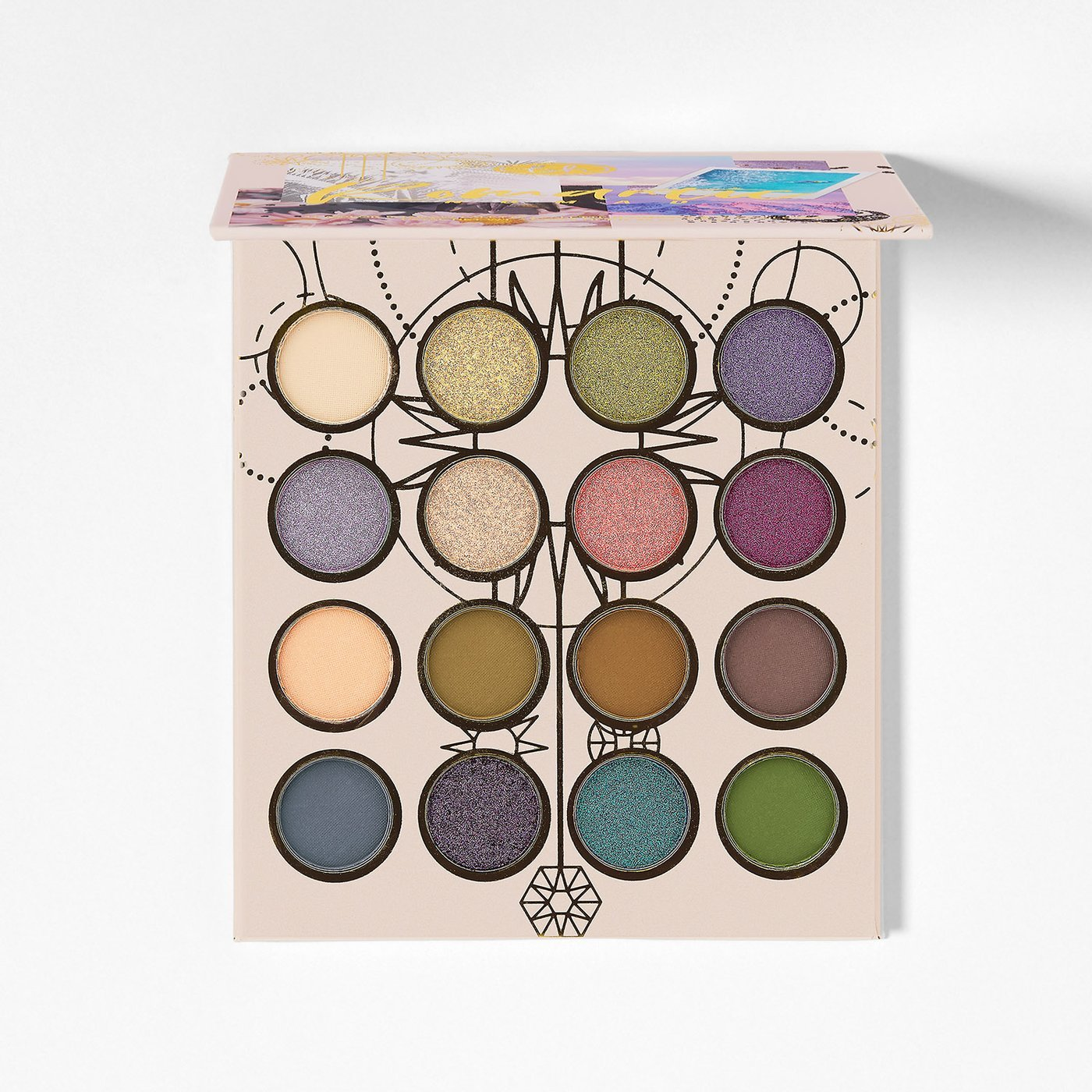 BH Cosmetics Romantic Nomad 16 Color Shadow Palette