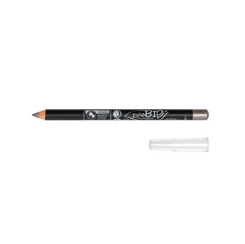 Карандаш для глаз - цвет 46 серый металлик | PuroBio
