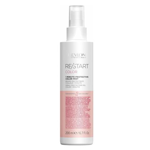 REVLON Restart Color: 1-минутный мист защищиющий цвет волос (1 Minute Protective Color Mist), 200мл