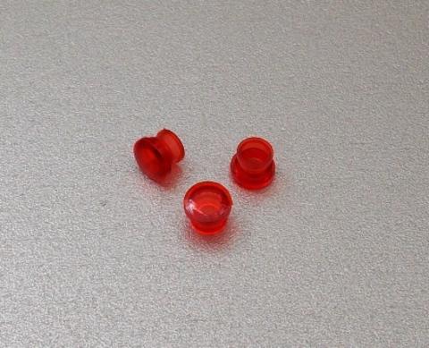 Пластмассовый внешний плафончик светосигнальной арматуры электроплиты ЗВИ